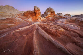White Pocket, Creamsicle, Arizona sunrise, southwest landscape
