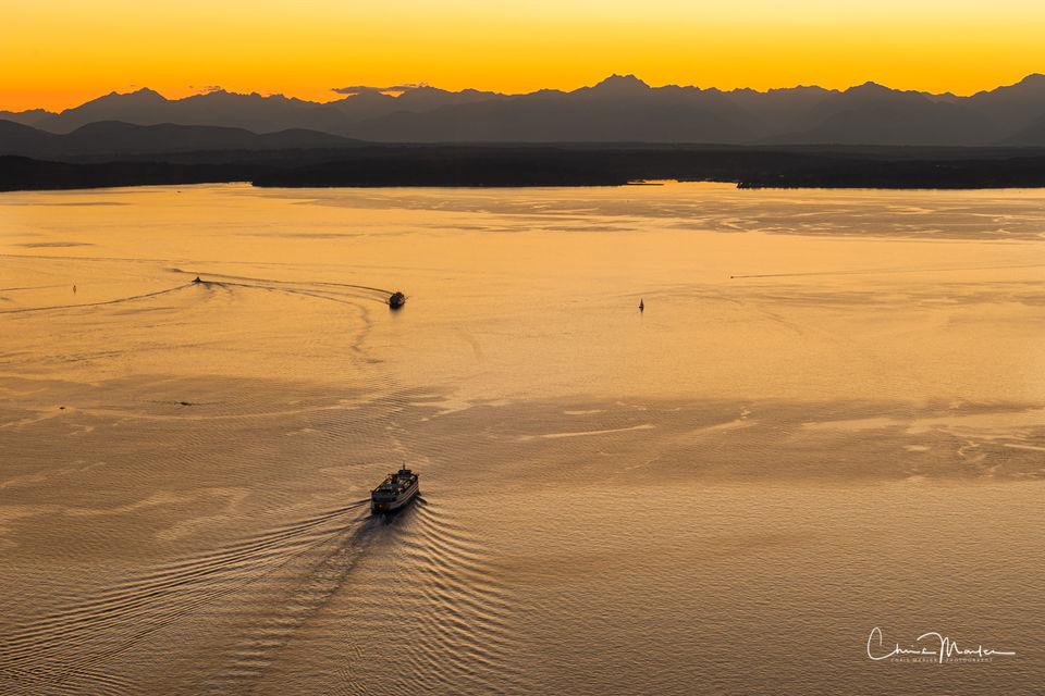 Seattle Ferry Ride