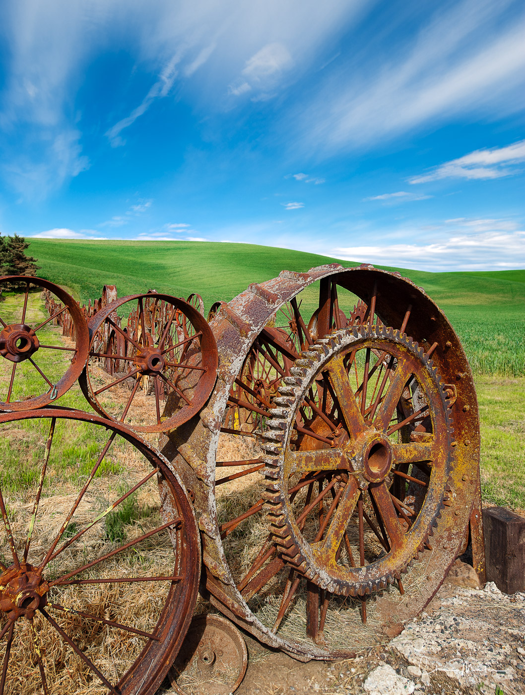 Dahmen Wagon Fence Farm