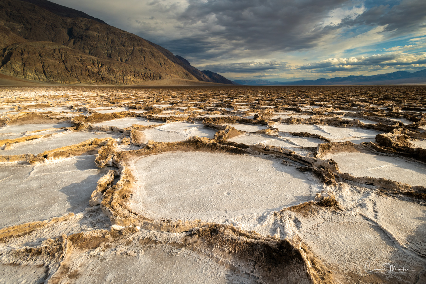 Death Valley, California, Badwater Basin, salt flats, desert, southwest, photo