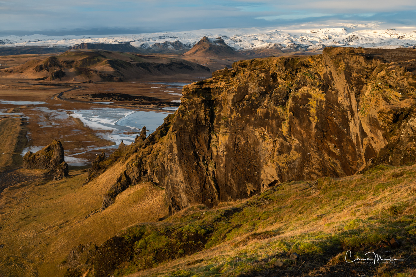 Dyrholaey, Iceland, Cliffs, Mountains, photo