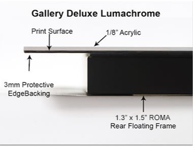 Lumachrome Gallery Deluxe Float Mount System